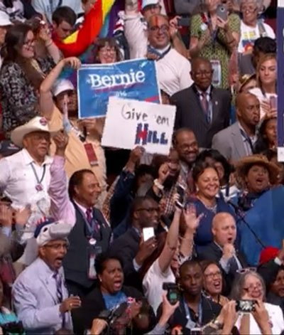 """Louisiana Democrats at the Democratic National Convention in Philadelphia on Tuesday """"rocked the house"""" as the group proclaimed proudly that ..."""