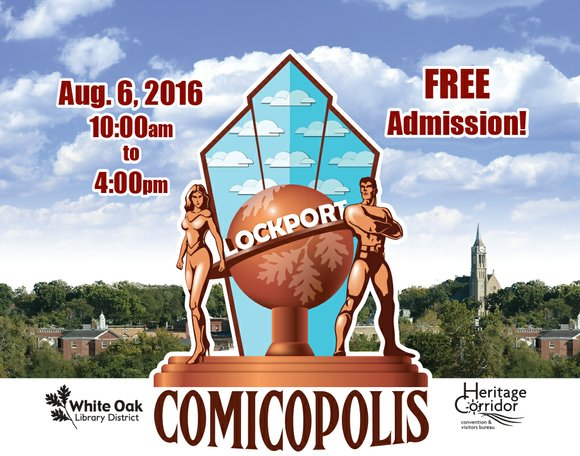 The comic book celebration returns for its second installment on August 6 at the White Oak Library Lockport branch.