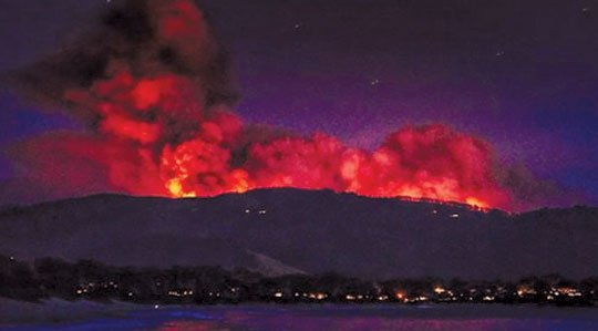 With most evacuated residents now back home, fire crews were working at the end of the week to extend their ...