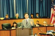 Mayor Kaine delivers State of City Address in 1999