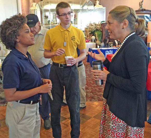 Joliet Job Corps students had a chance to talk about careers with the congressman who represents the 3rd congressional district ...