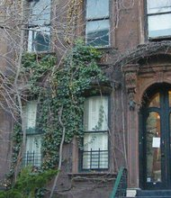 The Harlem brownstone where Langston Hughes lived and created during his last 20 years of life.