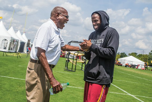 Willard Bailey never won a CIAA title coaching football at St. Paul's College, but championships alone aren't always what it's ...