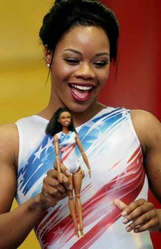 Barbie® honors Gabby Douglas, U.S. Women's Artistic and Olympic Gold Gymnast (2012 London), by unveiling a one-of-a-kind doll in her ...