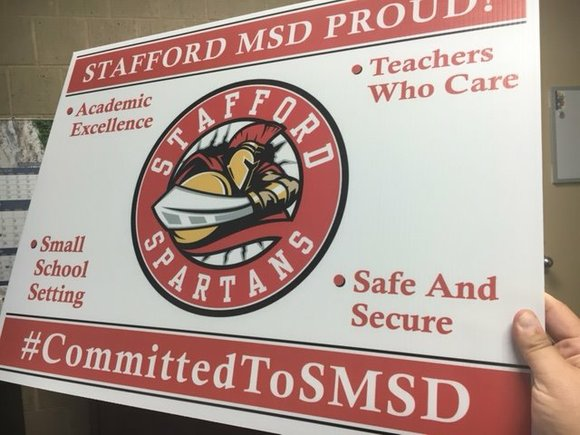 The Stafford Municipal School District's Mission Statement is to ensure that every student graduates ready for College or a Career, ...