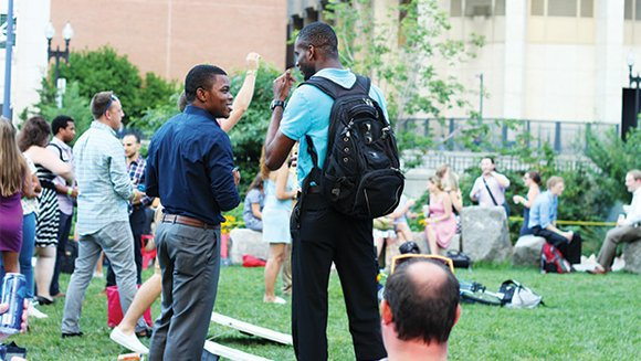 Every Thursday, hundreds of people filter through Dewey Square Park for live music, lawn games and local craft beer. Colleagues ...