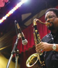 Legendary saxophonist Chico Freeman.