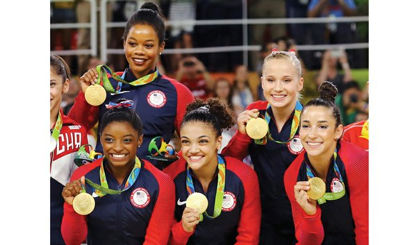 There were a few wobbles here and there, even for Simone Biles, but those imperfections could not stop the United ...