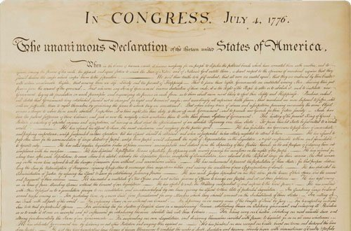 See some of the earliest printings of America's foundational blueprint documents at the Oregon Historical Society.