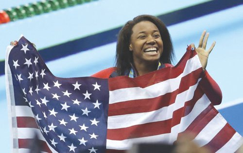 Athletes representing the United States at the 2016 Olympics are bringing home gold for the nation and for black history.