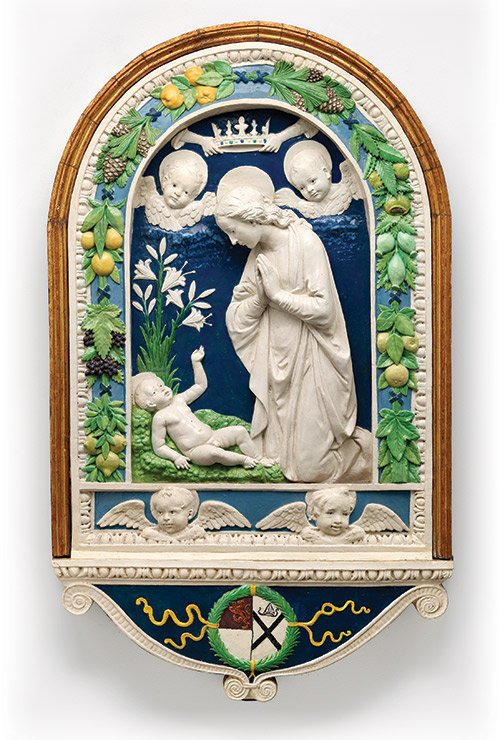 """Della Robbia: Sculpting with Color in Renaissance Florence"" is the first major U.S. offering dedicated to the story of the ..."
