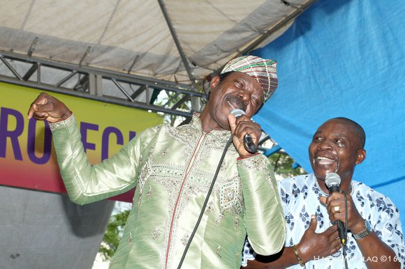 Celebrating 50 years on stage and his 70 years of age, the legendary King Sunny Ade and his African Beats ...