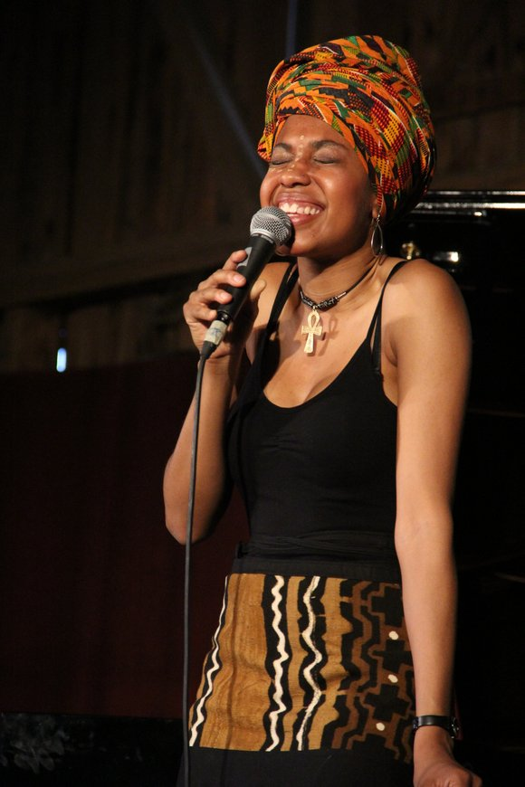 The vocalist Tulivu-Donna Cumberbatch, whose singing ability offers her the inventiveness to journey through the windows of blues, soul and ...