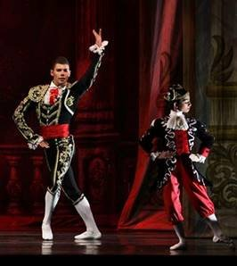"""""""In addition to featuring local youth dancers as [small] mice and snowflakes...this acclaimed version of the perennial ballet from Russia ..."""