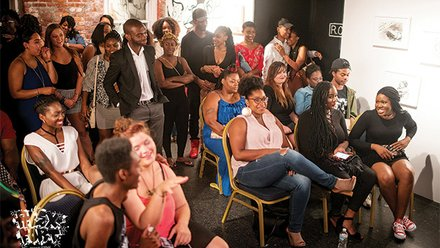 The crowd at the Second Annual Unapologetic.