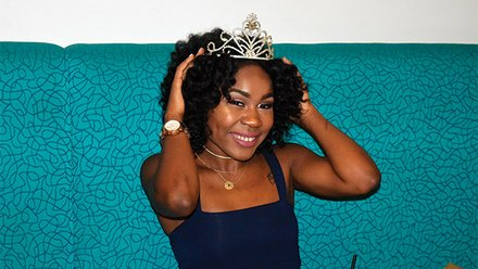 Jessicah Pierre, founder/CEO of Queen's Co.