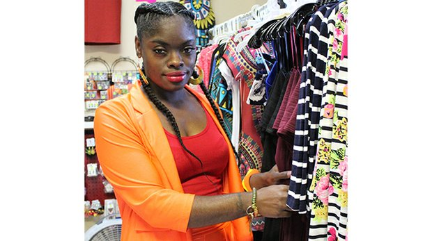 Okiema Johnson, the owner of I Dream Boutique, believes her still-new business is another positive for Frayser.