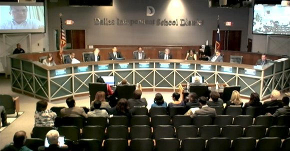 A controversial new tax hike proposed to the Dallas Independent School District Board of Trustee stirred up debate among members ...