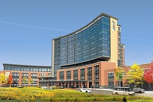 A rendering of the proposed Prince George's Medical Center in Largo (Courtesy of Dimensions Healthcare)