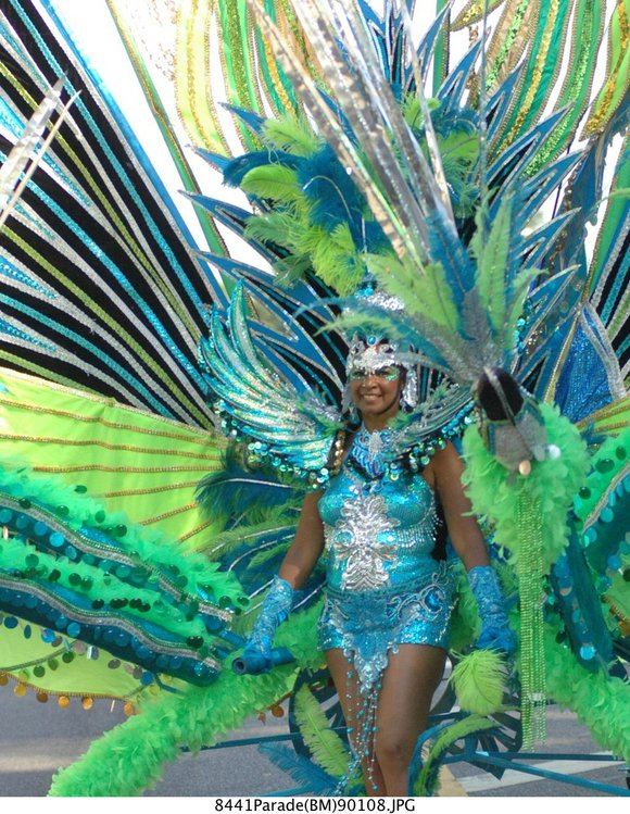 """The 49th annual West Indian American Day Carnival Association New York Caribbean Carnival Week 2016 celebrates """"One Caribbean, One People, ..."""