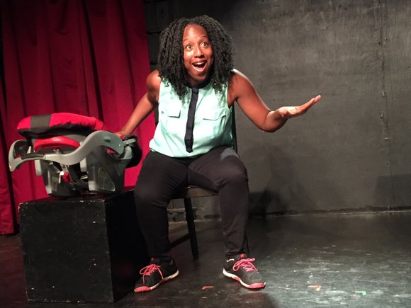 "Doreen Oliver sets a humorous and realistic tone in a one-woman performance of ""Everything Is Fine Until It's Not."""