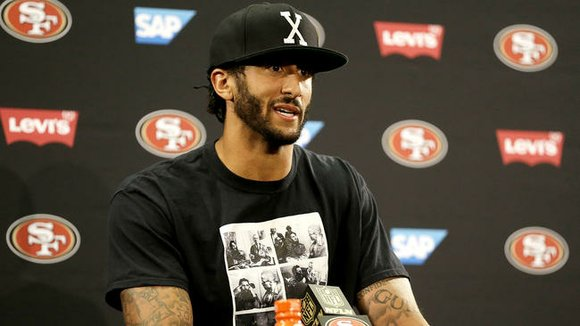 San Francisco 49ers quarterback Colin Kaepernick was greeted with a chorus of boos Sunday when he took the field at ...
