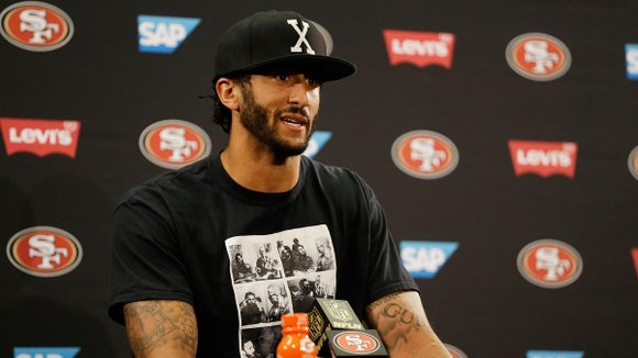 Defiant, and determined to be a conduit for change, Colin Kaepernick plans to sit through the national anthem for as ...