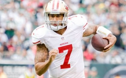 San Francisco 49ers quarterback Colin Kaepernick continued his peaceful protest against racial injustice Sept. 1 against the San Diego Chargers ...