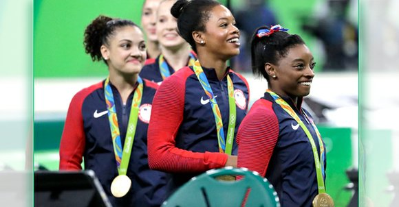 The U.S. Olympic Team made itself right at home in Rio.