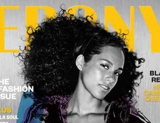 "CHICAGO - Alicia Keys tells EBONY she doesn't believe in being ""flawless,"" yet on the set of the September Issue ..."