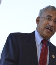 Rep. Bobby Scott (D-Va.) said that ensuring that all Americans have the opportunity to make a decent life for themselves and their families is the central challenge of our time. This photo was taken during a forum on criminal justice reform in Northwest Washington, D.C. in July 2015.