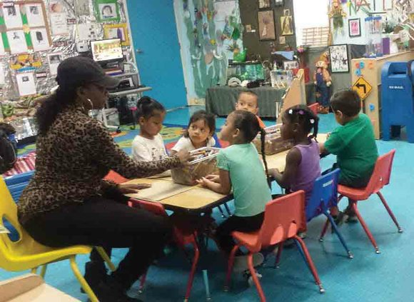 On a warm and sunny morning, a dozen precocious pre-kindergarteners at New Liberty Child Care in South Los Angeles were ...