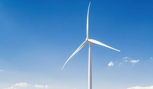 Power from wind turbines is one of the many ways companies can improve use of renewable energy.