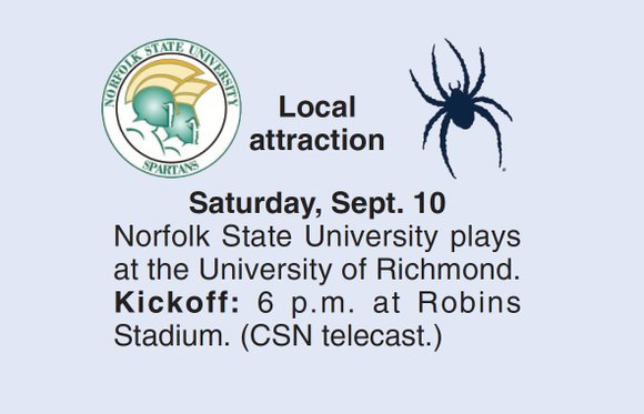 There was a time not so long ago when no man on earth wanted to see the University of Richmond ...