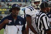 Coach Tony Hughes' JSU Tigers could not stop TSU's second-half comeback. (Photo: Terry Davis)