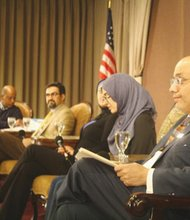 The Muslim Educational Trust hosts a panel discussion to promote understanding between people of different faiths.