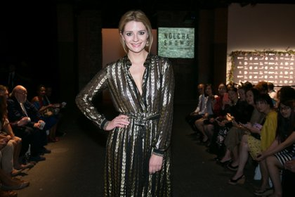 Making her first public appearence this year, Mischa Barton attended the Nolcha Shows/Photo Credit: Nolcha Shows