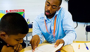 Reading Partners continues to help students in the District thrive. (Courtesy photo)