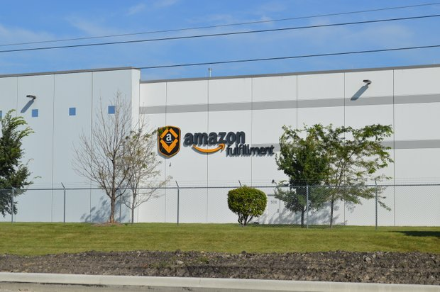 The first Amazon fulfillment center in Joliet opened in August last year.  A second facility opening was announced in May.