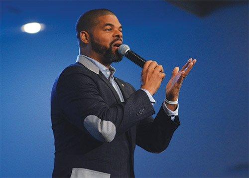 Pastor Matthew K Thompson of Jubilee Christian Church