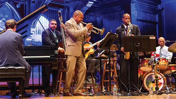 Introducing the event on Saturday night was Wynton Marsalis, managing and artistic director of Jazz at Lincoln Center and director ...