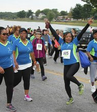 Funds raised from the 8th Annual 5K Run/Walk on Saturday, September 24, 2016, will help reduce the impact of HUD funding cuts of $4 million in transitional housing and support services grants to 19 agencies throughout Baltimore including Marian House. For more information or to register, visit: www.marianhouse.org/5k or email: events@marianhouse.org or call: 410-467-4246. (Above) Participants in a previous 5K Run/Walk.