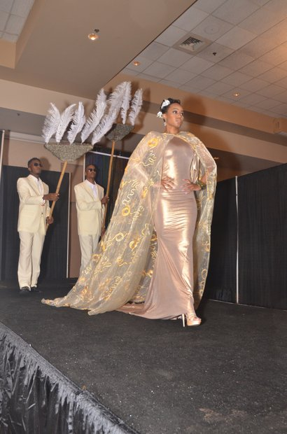 Models rocked the latest fashions on the runway during the SHC Fashion Show and Brunch at the Holiday Inn University of Memphis. (Photo: Tyrone P. Easley)