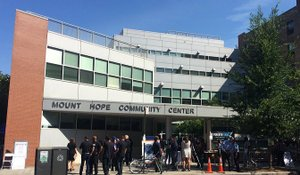 "The Bronx District Attorney's Office hosted the ""Another Chance"" event on September 17th at the Mount Hope Community Center"