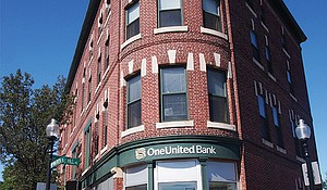 OneUnited Bank's Grove Hall location.