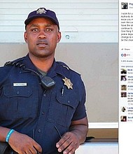 Tulsa police officer Popsey Floyd made an emotional Facebook post after the fatal police shooting in North Carolina and Oklahoma