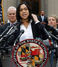 Baltimore City State's Attorney Marilyn Mosby