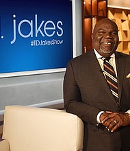 T.D. Jakes new hour-long show premieres on OWN September 19.