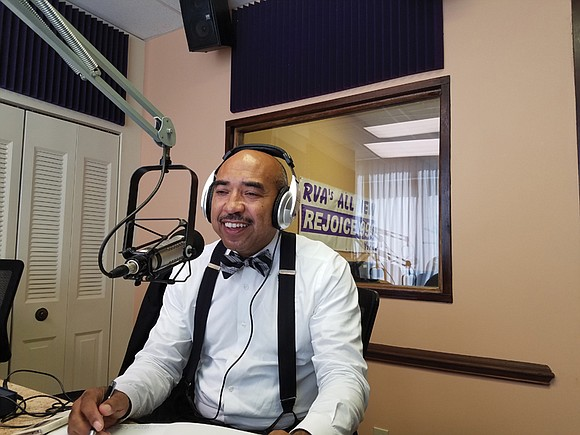 Richmond native and activist Gary L. Flowers hit the airwaves this week as a new voice on Rejoice Radio.