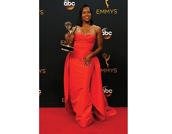 Diversity ruled at Sunday's Emmy Awards, where a record 21 nominees of color were up for the annual awards for ...